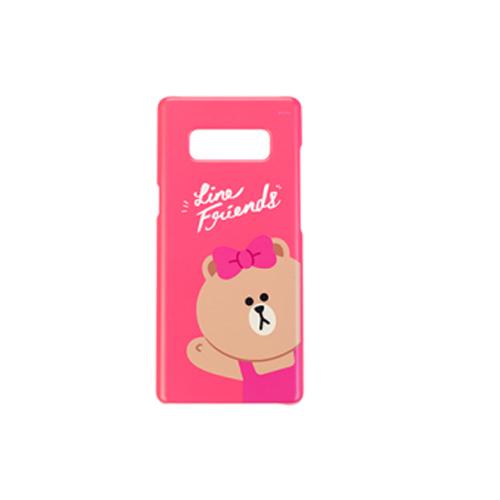 Samsung Note 8 熊美保護套 pink