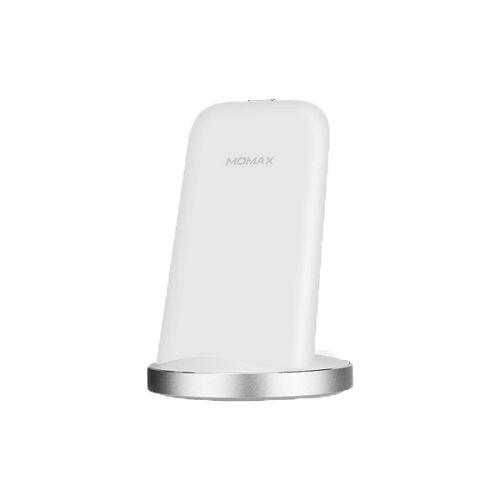MOMAX Q.Dock2 直立無線充電座 白色