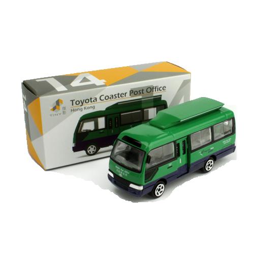 Tiny微影 14 Toyota Coaster流動郵局車 8cm