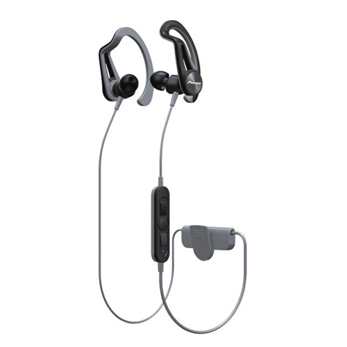Pioneer Clip Sport 掛耳式藍牙耳機 灰 SE-E7BTH