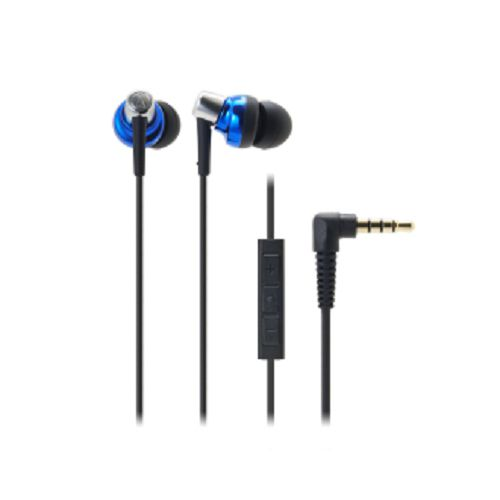 audio-tech In-Earphone for iPhone 藍 ATH-CKM300i BL