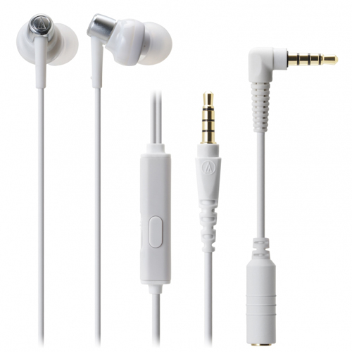 audio-tech Mobile In-Earphone 白 ATH-CKM300is WH