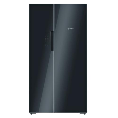 BOSCH [8/i]592L對門雪櫃-黑玻璃 KAN92LB35G