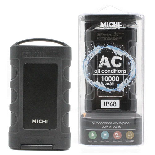 Michi [A]All Condition 10000mAh PowerBank 黑