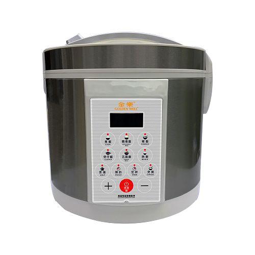 GOLDENWELL 5L黑晶陶瓷營養飯煲 GBC-5DE
