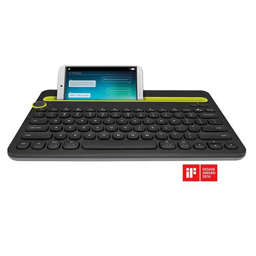 Logitech Multi-Device Bluetooth Keyboard-AP K480 Black