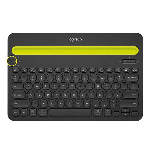 Logitech Multi-Device Bluetooth Keyboard-TW K480 Black