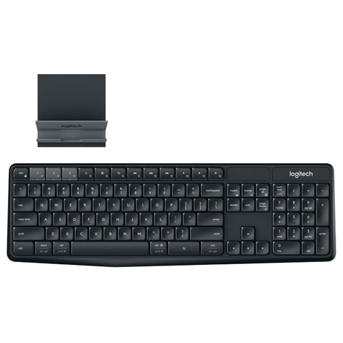Logitech Multi-Device Wireless Keyboard & Combo K375S CHI Black