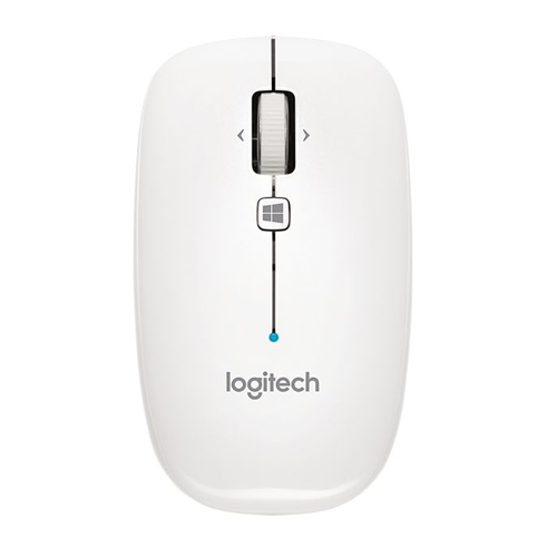 Logitech Bluetooth Mouse M557/M558 White