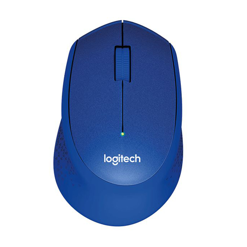 Logitech Silent Plus Wireless Mouse M331 Blue