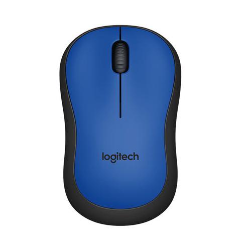 Logitech Silent Wireless Mouse M221 Blue