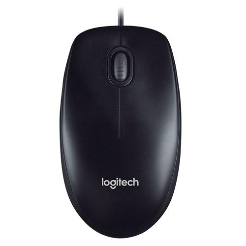 Logitech Corded Mouse M100r Black