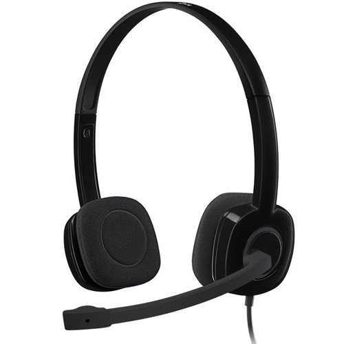 Logitech Stereo Headset-AP H151 Black