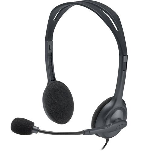 Logitech Stereo Headset-AP H111 Black