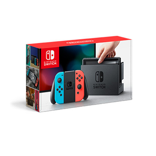 Nintendo Switch主機[電光藍/電光紅]港版