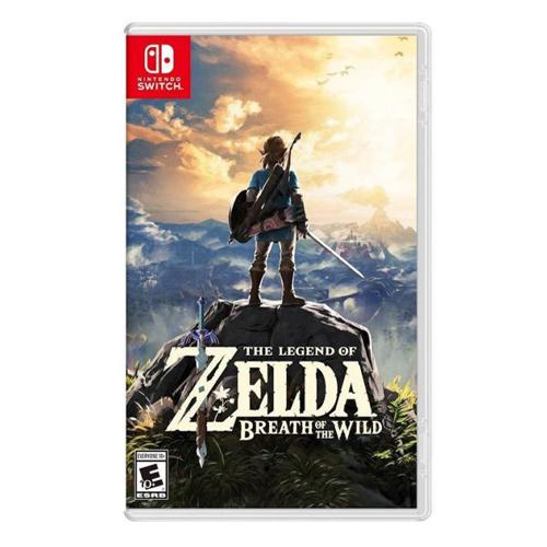 Nintendo 塞爾達傳說:荒野之息 [中/日/英 版]