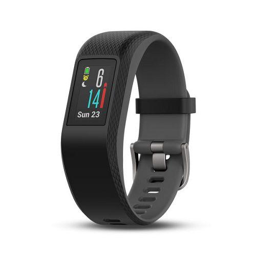 GARMIN Vivosport GPS智慧健康心率手環[繁體版] Slate Regular