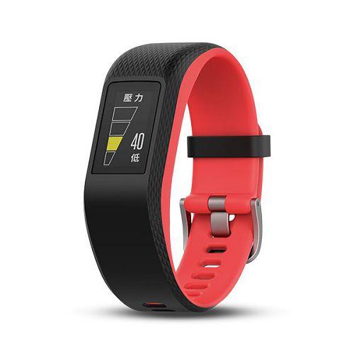 GARMIN Vivosport GPS智慧健康心率手環[繁體版] Fuchsia Regular