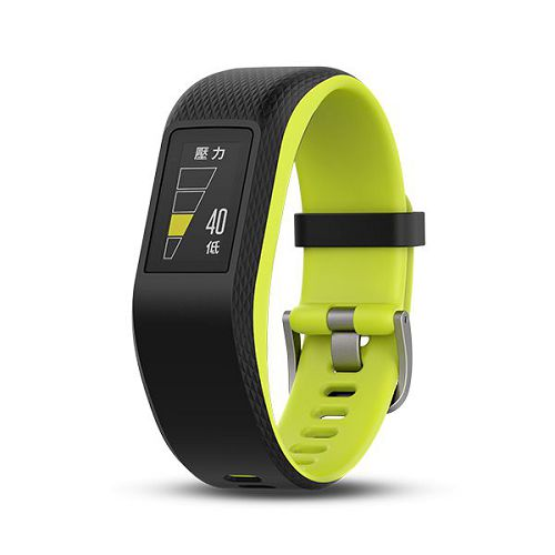 GARMIN Vivosport GPS智慧健康心率手環[繁體版] Limelight Large