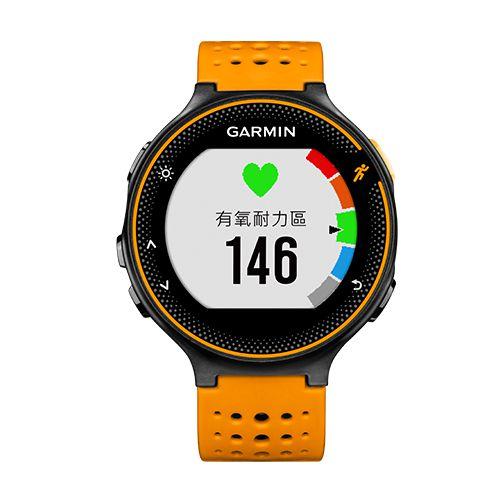 GARMIN Forerunner 235 GPS腕式心率跑錶[繁體版] Orange/Black Band