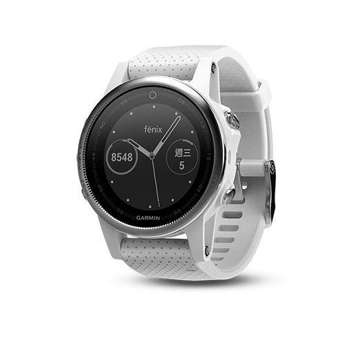 GARMIN Fenix 5s GPS輕量美型款腕錶[繁體版] Carrara White
