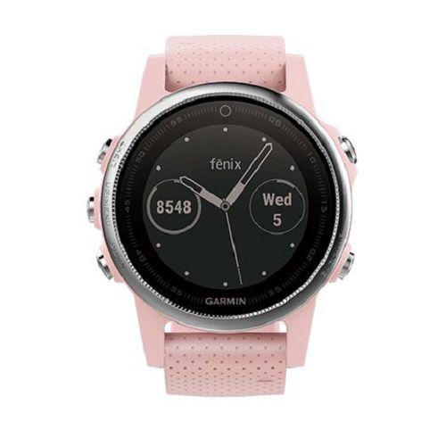 GARMIN Fenix 5s GPS輕量美型款腕錶[繁體版] Pink