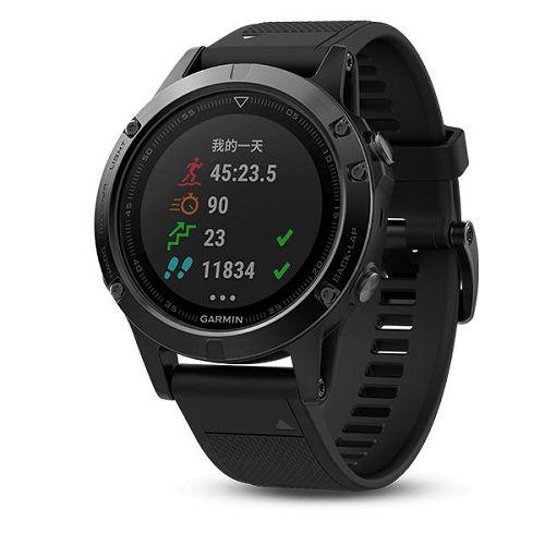 GARMIN Fenix 5 GPS多元風尚款腕錶[繁體版] Sapphire DLC