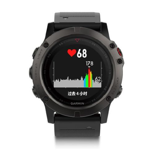GARMIN Fenix 5x GPS專業地圖款腕錶[繁體版] Sapphire DLC