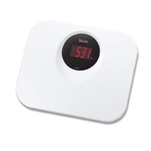 TANITA 輕巧電子體重磅 HD394白