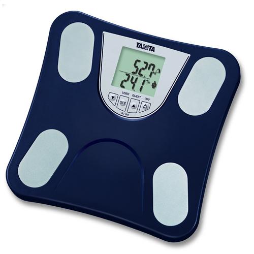 TANITA 脂肪分析磅 BC-G01深藍