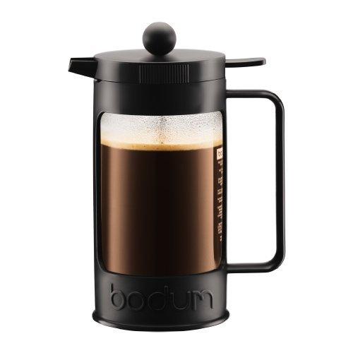 BODUM 1.0L擠壓式咖啡壺 11376-01 黑