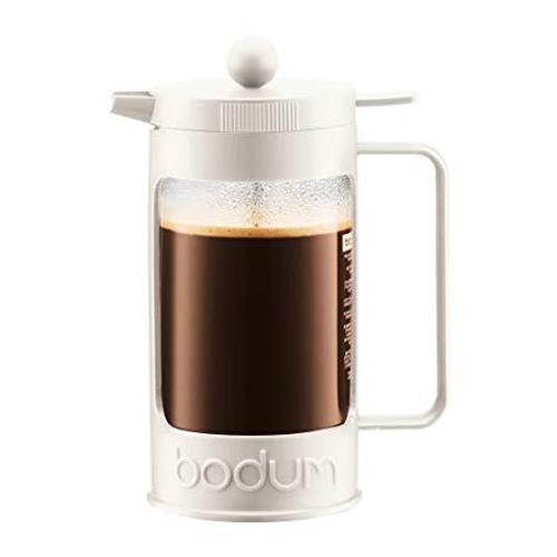 BODUM 1.0L擠壓式咖啡壺 11376-913 白