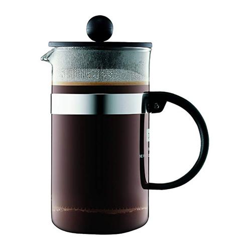 BODUM 0.35L擠壓式咖啡壺 1573-01 黑