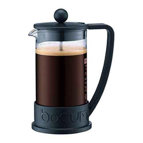 BODUM 0.35L擠壓式咖啡壺 10948-01 黑
