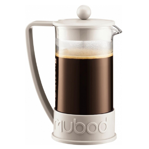 BODUM 0.35L擠壓式咖啡壺 10948-913 白