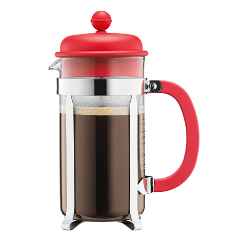 BODUM 0.35L咖啡壺 1913-294 紅