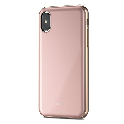 moshi iGlaze for iPhone XS/X Taupe Pink