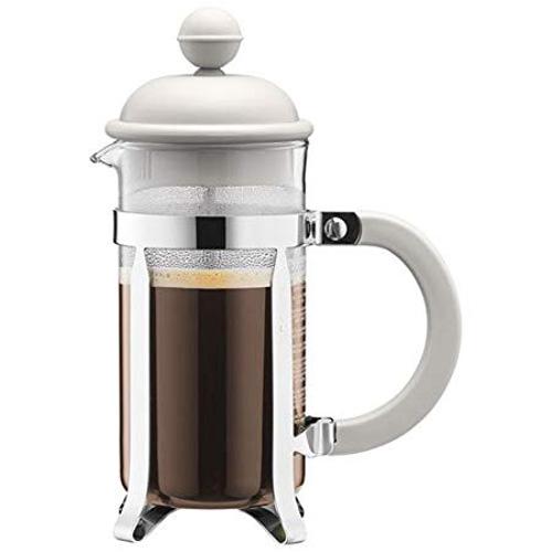 BODUM 0.35L擠壓式咖啡壺 1913-913 白