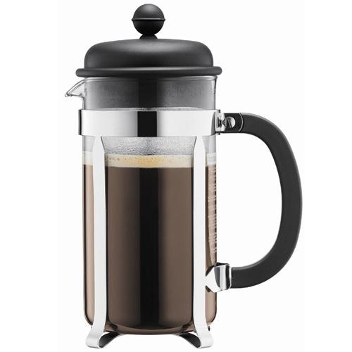 BODUM 1.0L擠壓式咖啡壺 1918-01 黑