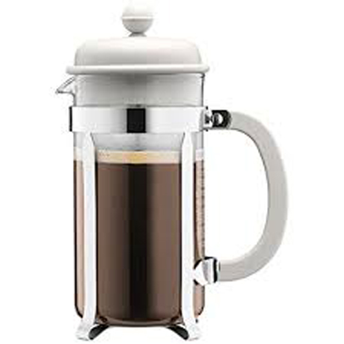 BODUM 1.0L擠壓式咖啡壺 1918-913 白