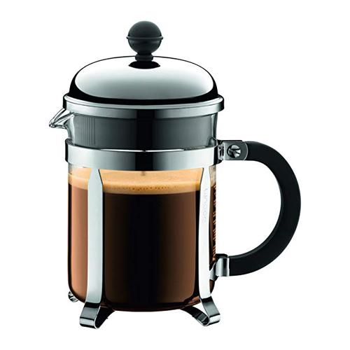 BODUM 0.5L擠壓式咖啡壺 1924-16 銀
