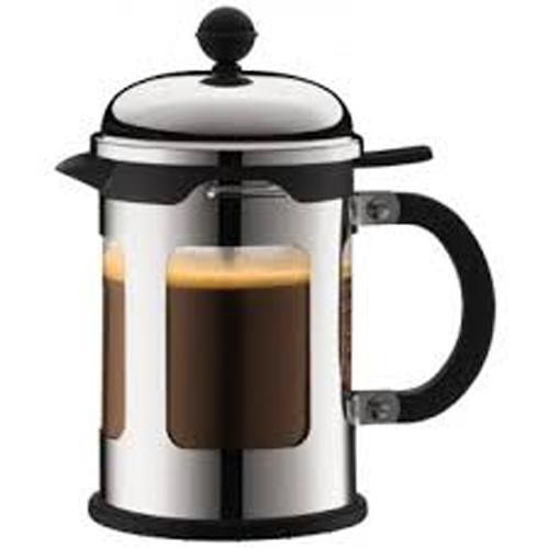 BODUM 0.5L擠壓式咖啡壺 11171-16 銀