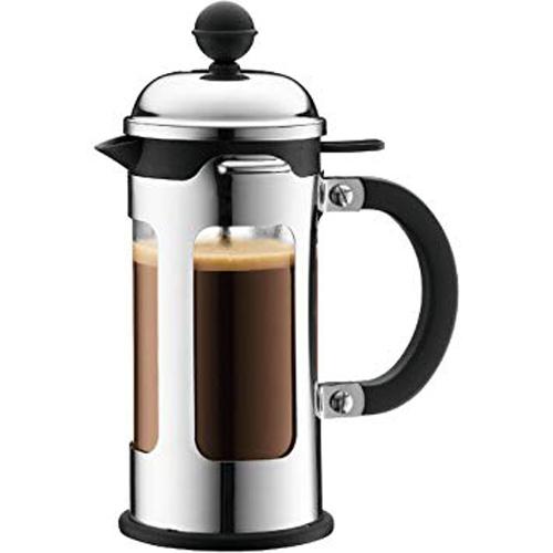 BODUM 0.35L擠壓式咖啡壺 11170-16 銀