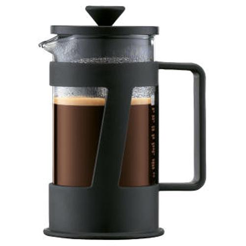 BODUM 0.35L擠壓式咖啡壺 10891-01 黑