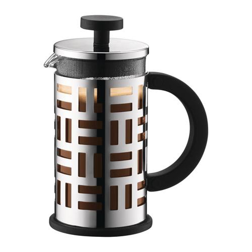BODUM 0.35L擠壓式咖啡壺 11198-16 銀