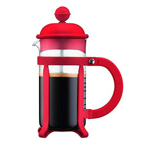 BODUM 0.35L擠壓式咖啡壺 1903-294 紅