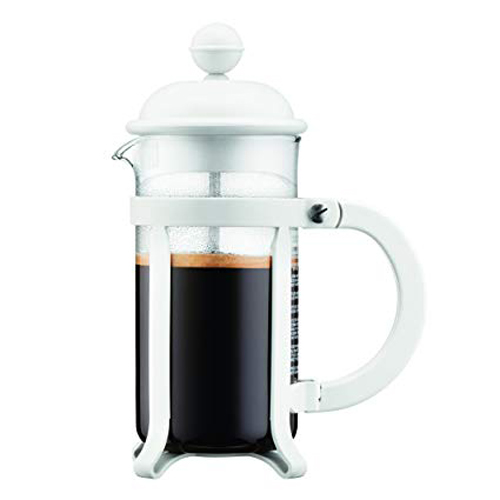 BODUM 0.35L擠壓式咖啡壺 1903-913 白