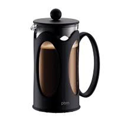 BODUM 0.35L擠壓式咖啡壺 10682-01 黑