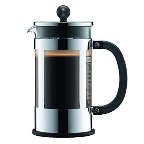 BODUM 1.0L擠壓式咖啡壺 11751-16 銀
