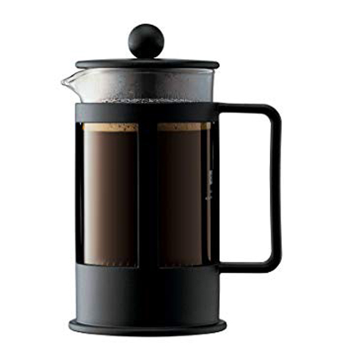 BODUM 0.35L擠壓式咖啡壺 1783-01 黑